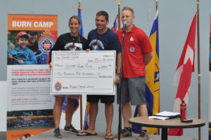 TOL Firefighters Burn fund donation